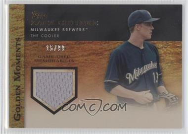 2012 Topps Golden Moments Game-Used Memorabilia Gold #GMR-ZGR - Zack Greinke /99