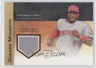 2012 Topps Golden Moments Game-Used Memorabilia #GMR-BP - Brandon Phillips