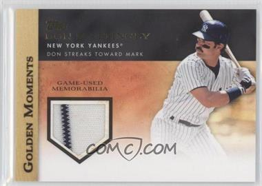 2012 Topps Golden Moments Game-Used Memorabilia #GMR-DM.1 - Don Mattingly (Pinstripes)