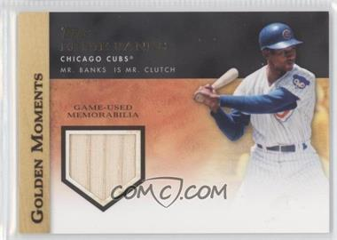 2012 Topps Golden Moments Game-Used Memorabilia #GMR-EB - Ernie Banks
