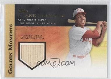 2012 Topps Golden Moments Game-Used Memorabilia #GMR-FR - Frank Robinson