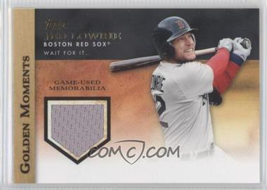 2012 Topps Golden Moments Game-Used Memorabilia #GMR-JLO - Jed Lowrie