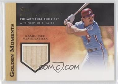 2012 Topps Golden Moments Game-Used Memorabilia #GMR-MS - Mike Schmidt