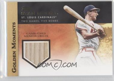 2012 Topps Golden Moments Game-Used Memorabilia #GMR-SMU - Stan Musial