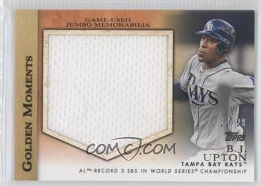 2012 Topps Golden Moments Jumbo Relics #GMJR-BU - B.J. Upton /20