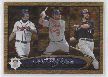 2012 Topps Golden Moments Parallel #159 - Albert Pujols, Todd Helton