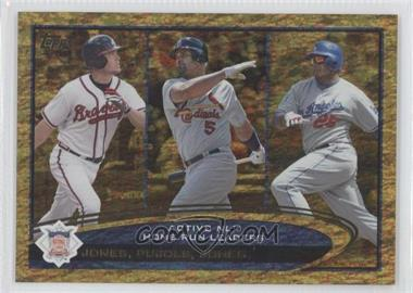2012 Topps Golden Moments Parallel #192 - Albert Pujols, Andruw Jones