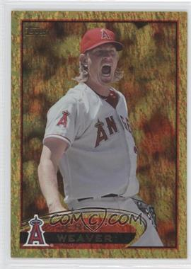2012 Topps Golden Moments Parallel #250 - Jered Weaver