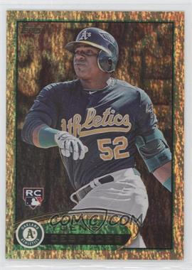 2012 Topps Golden Moments Parallel #396 - Yoenis Cespedes