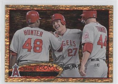 2012 Topps Golden Moments Parallel #446 - Mike Trout