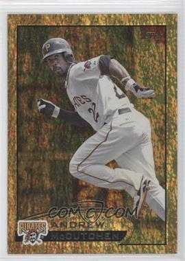 2012 Topps Golden Moments Parallel #497 - Andrew McCutchen