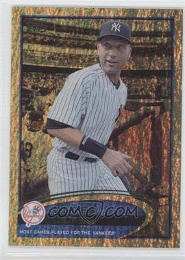 2012 Topps Golden Moments Parallel #641 - Derek Jeter