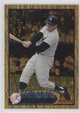 2012 Topps Golden Moments Parallel #7 - Mickey Mantle
