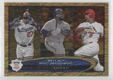 2012 Topps Golden Moments Parallel #77 - Matt Kemp, Prince Fielder, Albert Pujols