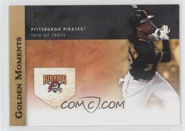 2012 Topps Golden Moments Series One #GM-12 - Andrew McCutchen