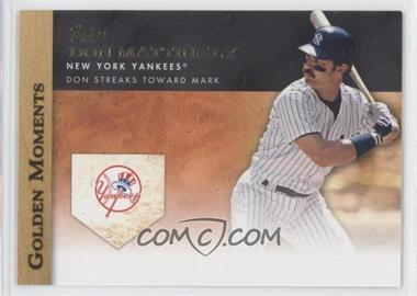 2012 Topps Golden Moments Series One #GM-13 - Don Mattingly