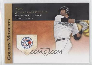 2012 Topps Golden Moments Series One #GM-2 - Jose Bautista