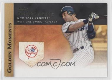 2012 Topps Golden Moments Series One #GM-3 - Derek Jeter
