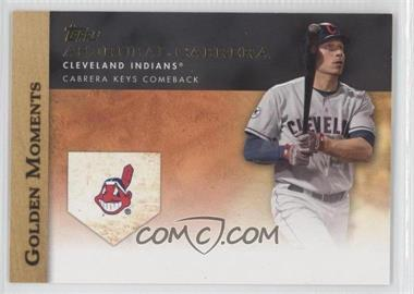 2012 Topps Golden Moments Series One #GM-37 - Asdrubal Cabrera