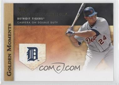 2012 Topps Golden Moments Series One #GM-40 - Miguel Cabrera
