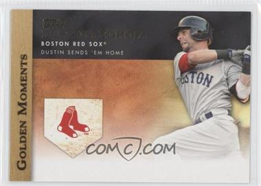 2012 Topps Golden Moments Series One #GM-46 - Dustin Pedroia