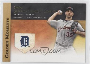 2012 Topps Golden Moments Series One #GM-9 - Justin Verlander