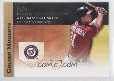 2012 Topps Golden Moments Series Two #GM-10 - Ryan Zimmerman