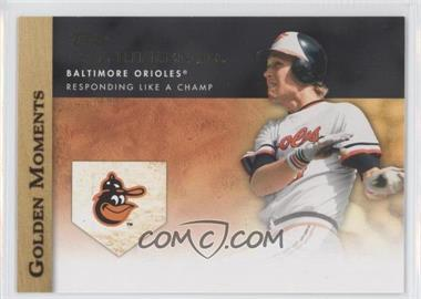 2012 Topps Golden Moments Series Two #GM-14 - Cal Ripken Jr.