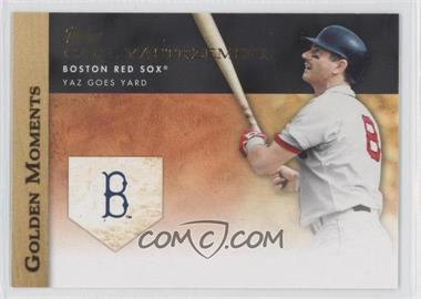 2012 Topps Golden Moments Series Two #GM-15 - Carl Yastrzemski