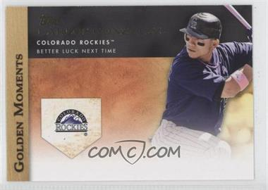 2012 Topps Golden Moments Series Two #GM-16 - Carlos Gonzalez
