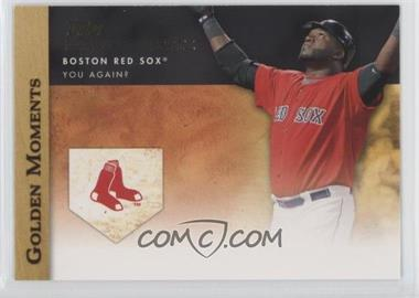 2012 Topps Golden Moments Series Two #GM-21 - David Ortiz
