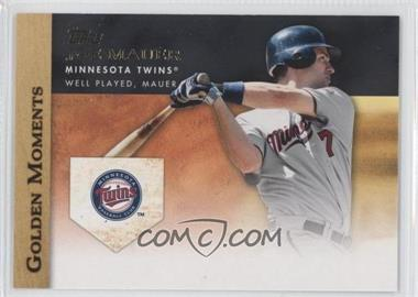 2012 Topps Golden Moments Series Two #GM-28 - Joe Mauer