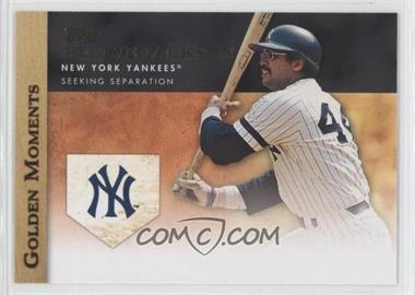 2012 Topps Golden Moments Series Two #GM-33 - Reggie Jackson