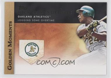 2012 Topps Golden Moments Series Two #GM-34 - Rickey Henderson