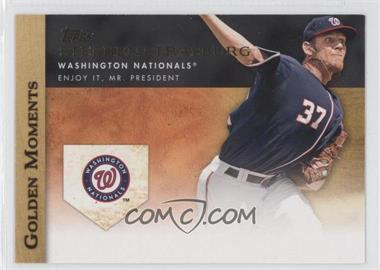 2012 Topps Golden Moments Series Two #GM-36 - Stephen Strasburg