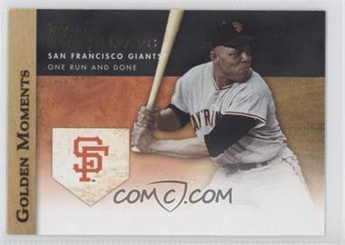 2012 Topps Golden Moments Series Two #GM-39 - Willie Mays