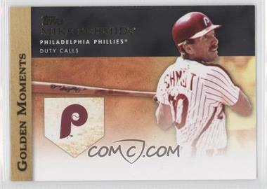 2012 Topps Golden Moments Series Two #GM-46 - Mike Schmidt
