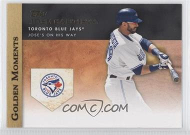 2012 Topps Golden Moments Series Two #GM-6 - Jose Bautista
