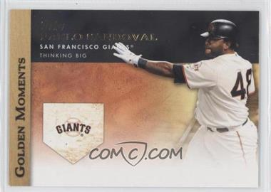 2012 Topps Golden Moments Series Two #GM-7 - Pablo Sandoval