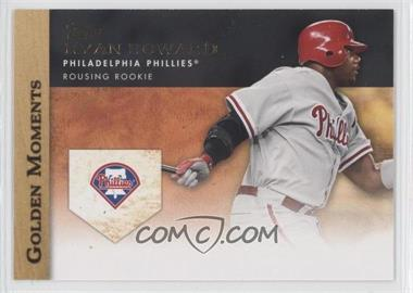 2012 Topps Golden Moments Series Two #GM-9 - Ryan Howard
