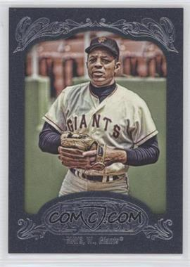 2012 Topps Gypsy Queen - [Base] - Blue #280 - Willie Mays /599