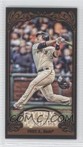 2012 Topps Gypsy Queen - [Base] - Mini Black #182 - Buster Posey