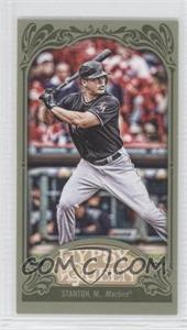 2012 Topps Gypsy Queen - [Base] - Mini Green #147 - Giancarlo Stanton