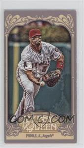 2012 Topps Gypsy Queen - [Base] - Mini Gypsy Queen Back #333 - Albert Pujols