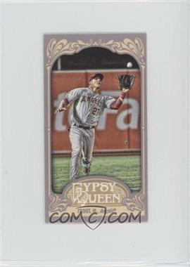 2012 Topps Gypsy Queen - [Base] - Mini Gypsy Queen Back #336 - Mike Trout