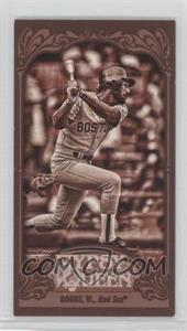 2012 Topps Gypsy Queen - [Base] - Mini Sepia #248 - Wade Boggs /99