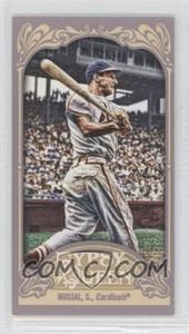 2012 Topps Gypsy Queen - [Base] - Mini Straight Cut #249 - Stan Musial