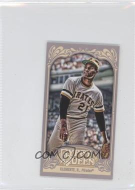 2012 Topps Gypsy Queen - [Base] - Mini Straight Cut #270 - Roberto Clemente