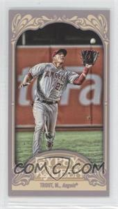 2012 Topps Gypsy Queen - [Base] - Mini Straight Cut #336 - Mike Trout