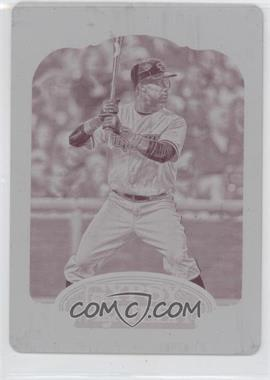 2012 Topps Gypsy Queen - [Base] - Printing Plate Magenta #193 - Chris Young /1
